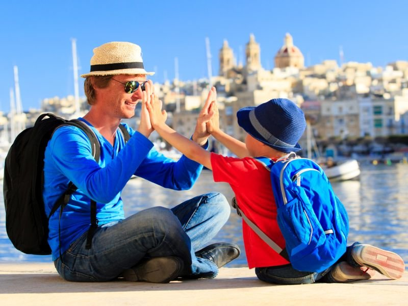 Best places to travel with children in Brazil