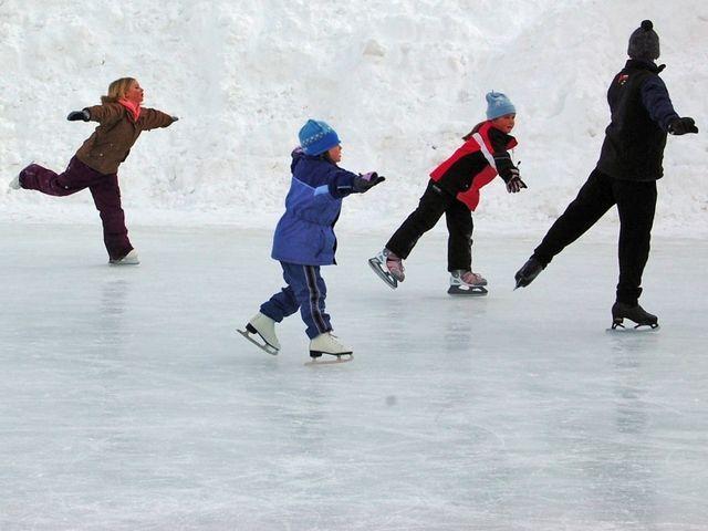 Ice Skating Rink at Rockefeller Center
