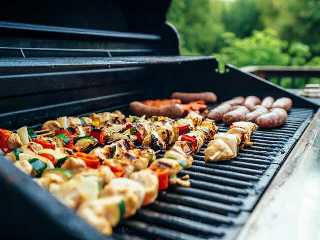 Barbecuing With My Outdoor Kitchen